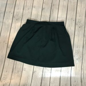 Madewell Bistro Forest Mini Skirt 6
